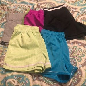 Girls shorts size 10/12 and 1 size 14.